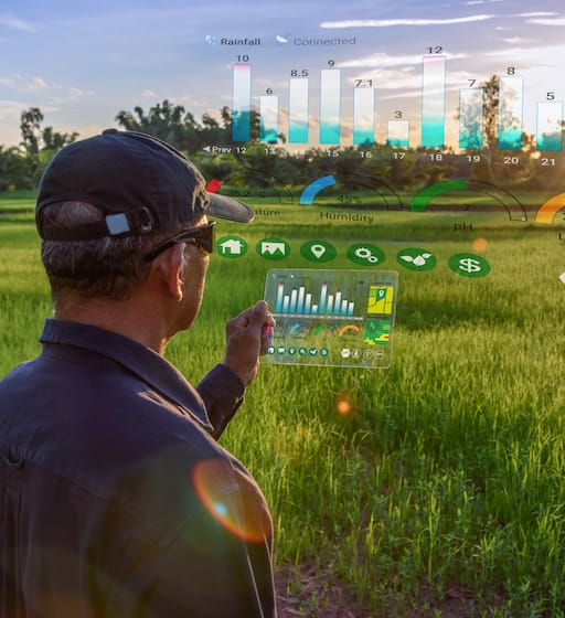 Ag inspector using advanced technology to monitor crops